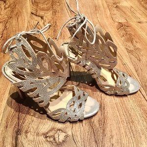 Jessica Simpson Sparkly Heels